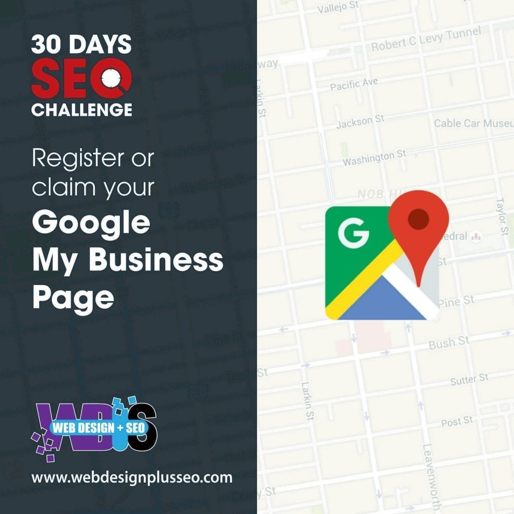Day 1: Register on your Google Business Page 1