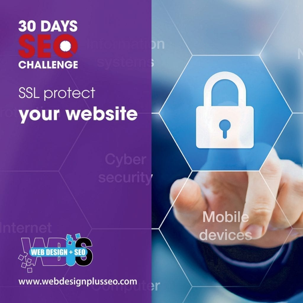 Day 29: SSL protect your website 1